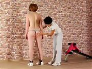 Fat-burning nude gymnastics and lesbian dildo shar...
