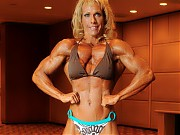 Janet Kaufman was in incredible shape as usual- im...