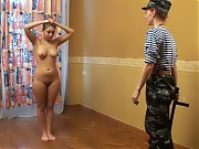 Back-breaking training of a teen SWAT bbw